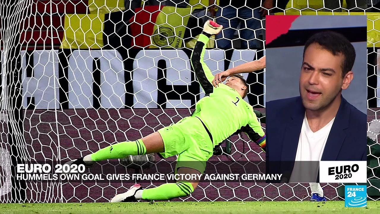 Euro 2020: Own-goal gives France 1-0 win over Germany