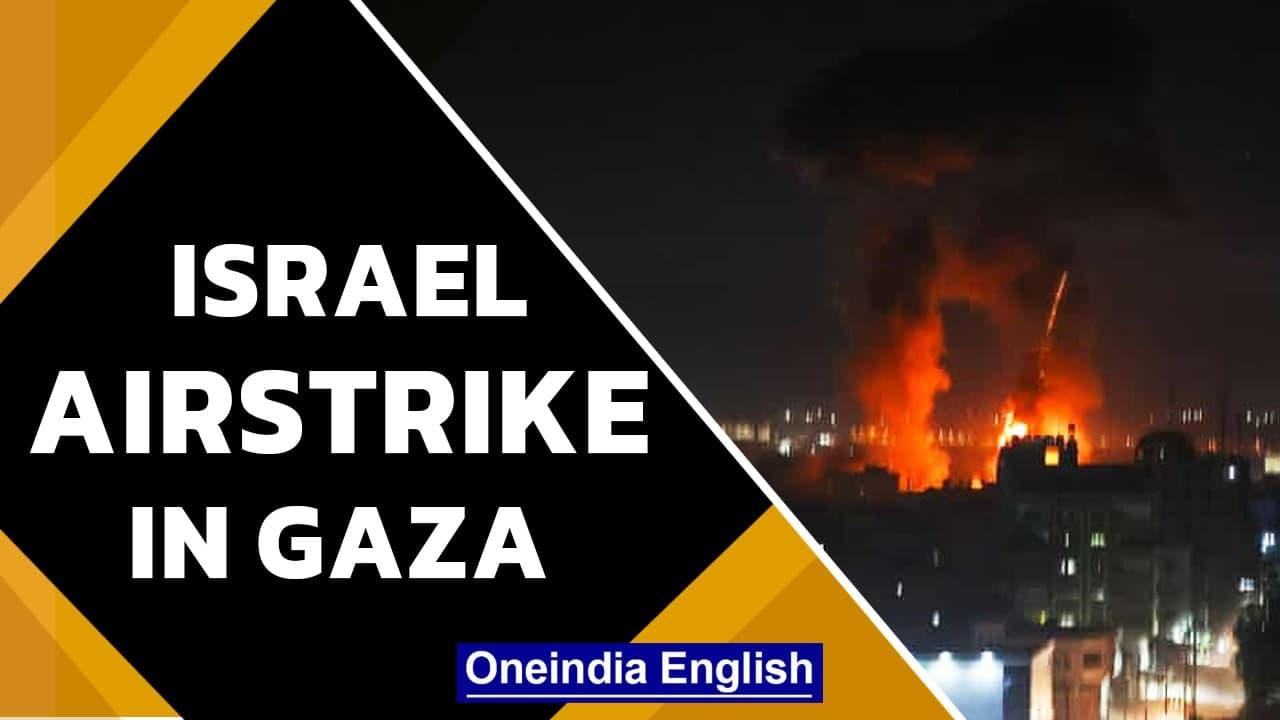 Israel launches airstrike in Gaza after month long ceasefire | Oneindia News
