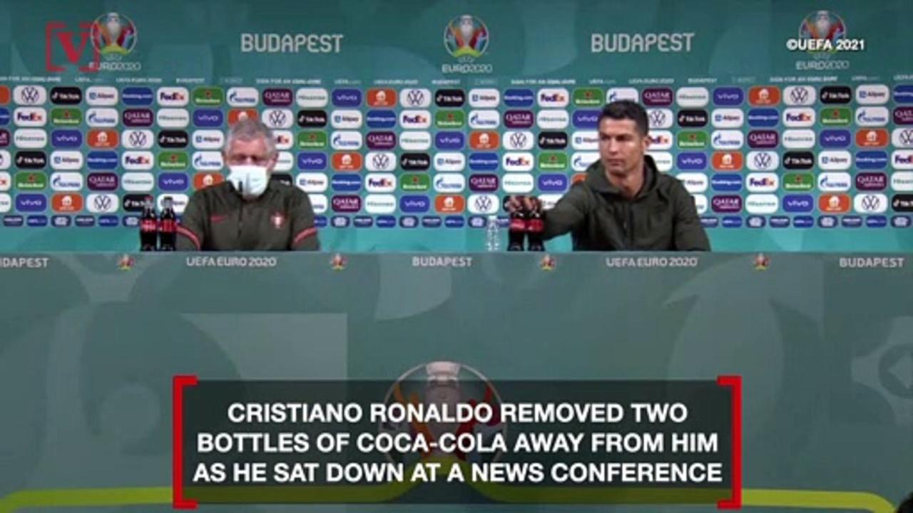 Coca-Cola Loses $4 Billion After Cristiano Ronaldo Appears To Encourage People To Drink Water Instead