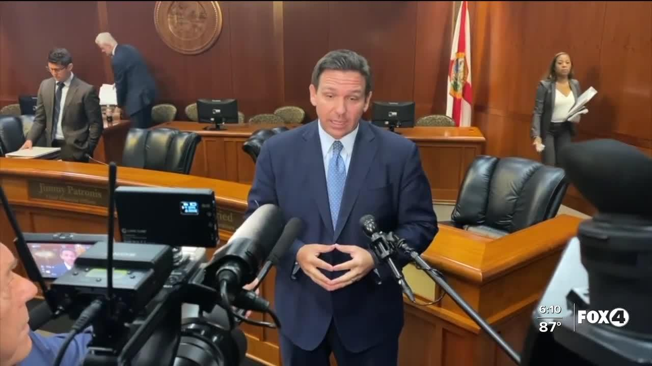 DeSantis encourages vaccination to fight Delta variant, critics call for more effort