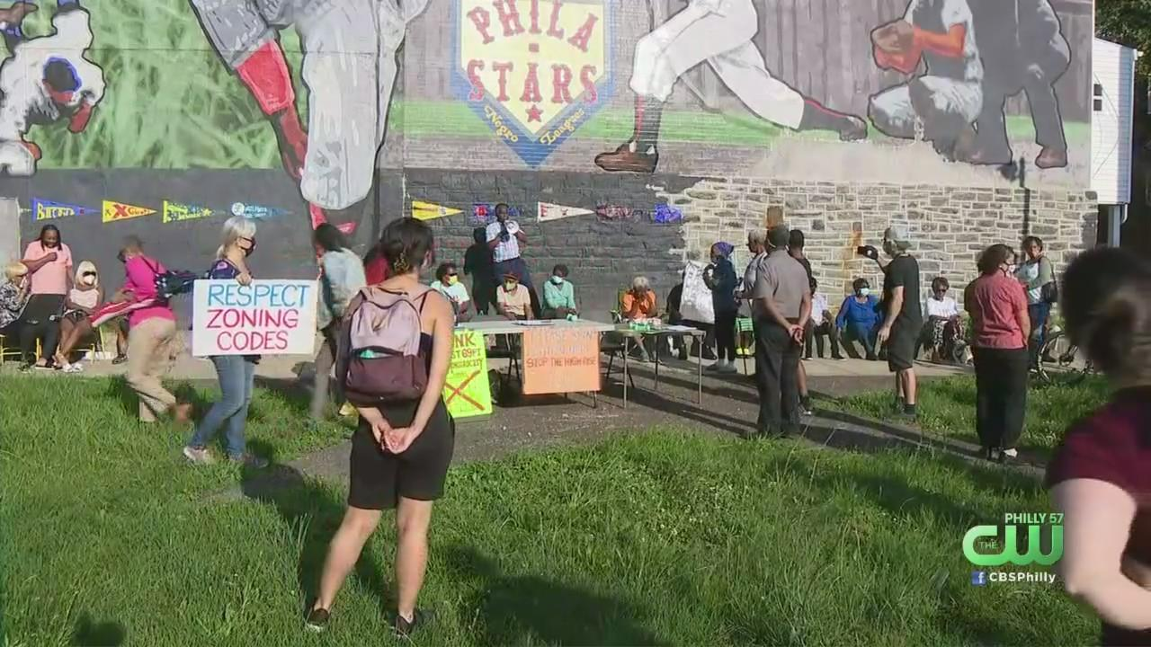 West Philadelphia Residents Rally Against Construction Of Proposed High Rise Building