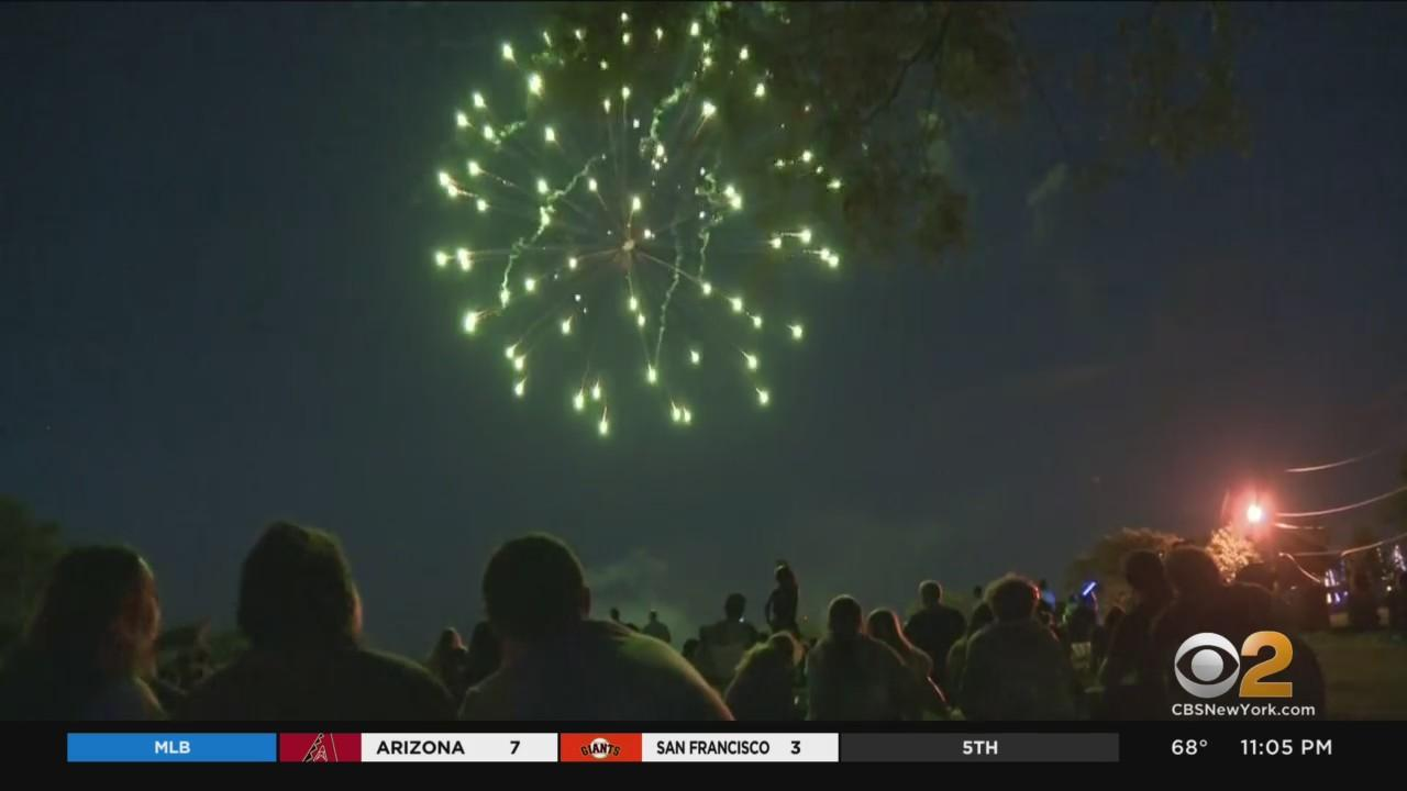 Fireworks Mark New York's COVID Vaccine Milestone, But Some Say Display Was Too Much