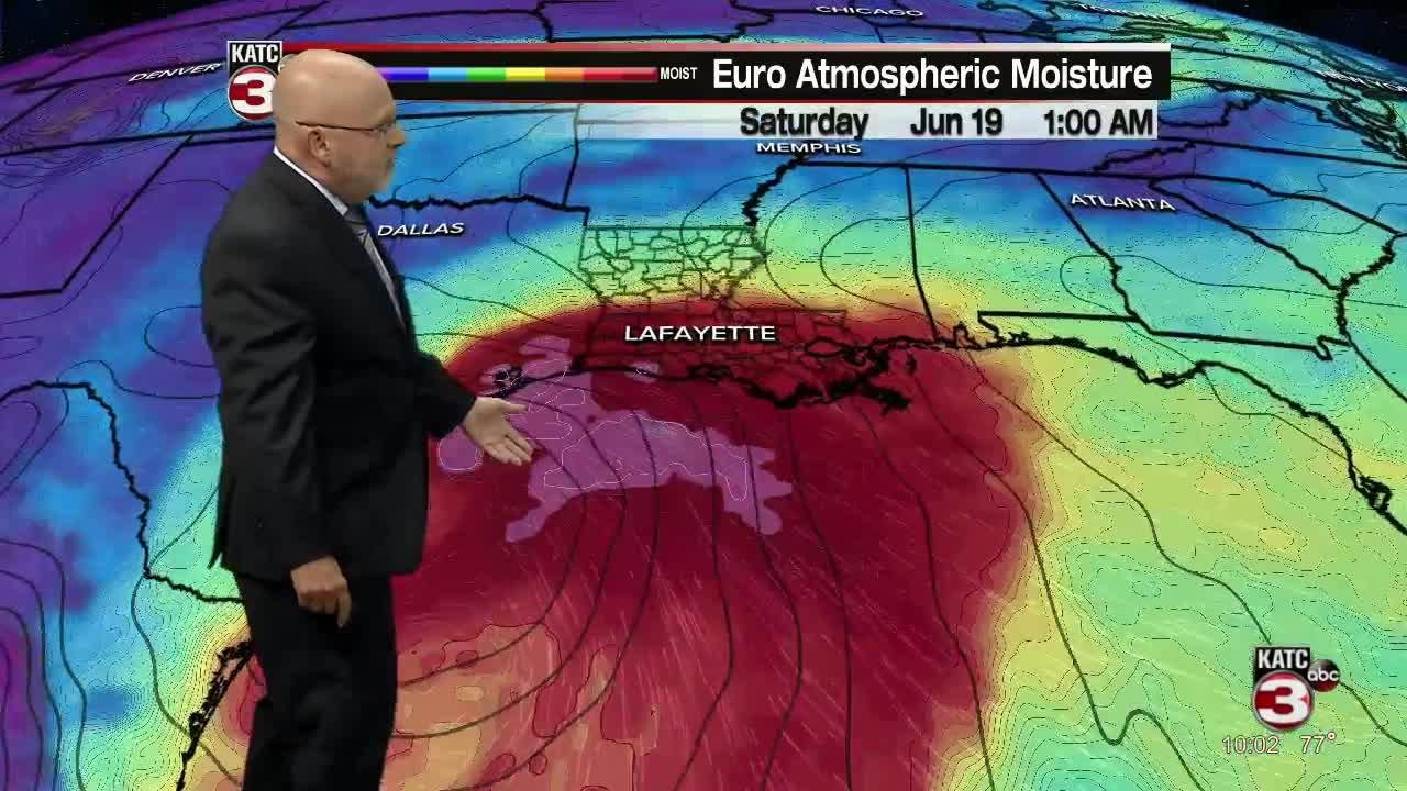 ROB'S WEATHER FORECAST PART 1 10PM 6-15-2021