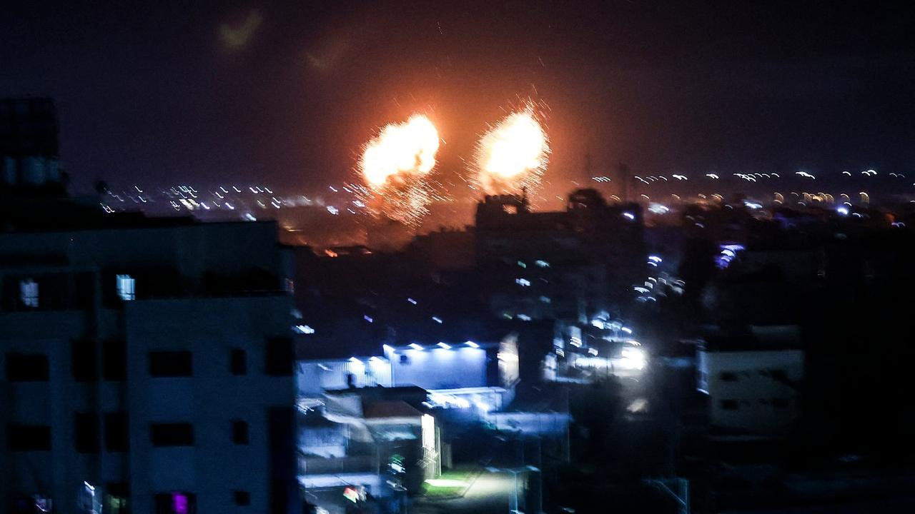 Israel launches air raids on Gaza Strip