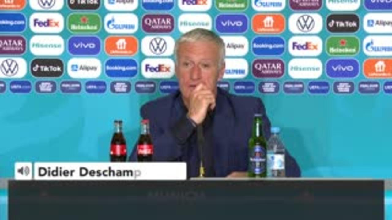 'We were close to a tragedy' - Deschamps on protestor