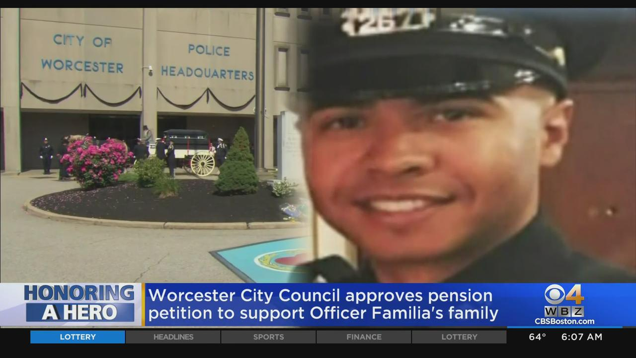 Worcester City Council Approves Pension Petition To Support Officer Familia's Family