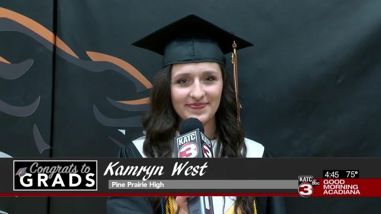 Congrats to Grads: Kamryn West