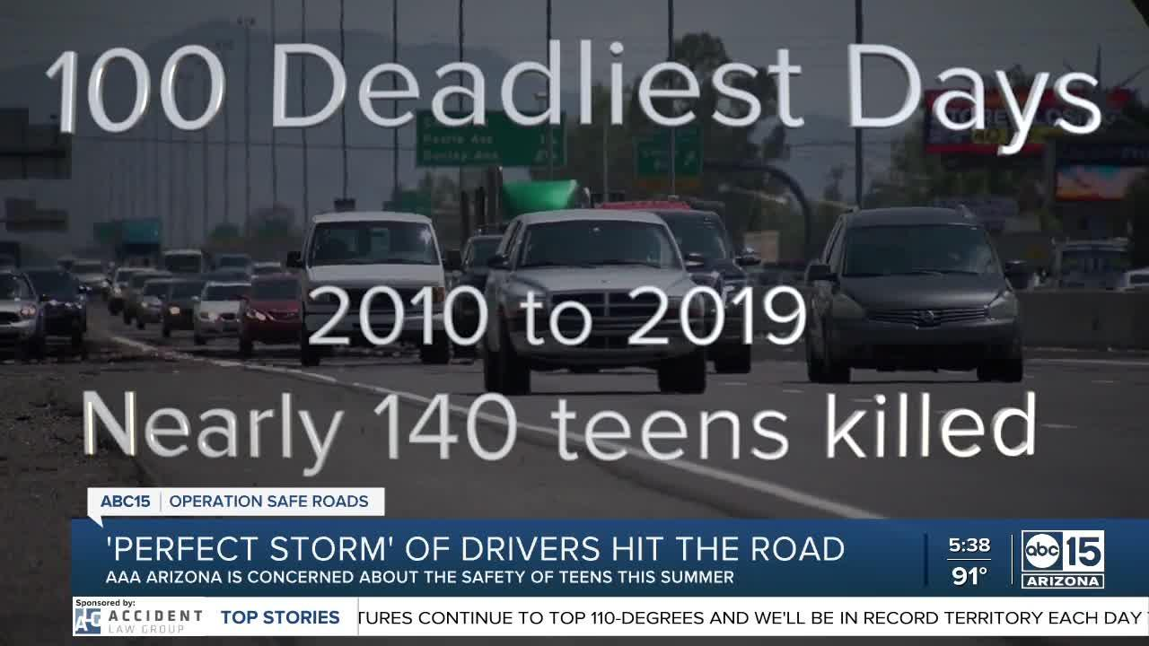 AAA warns about 'perfect storm' of teen drivers hitting the road following pandemic