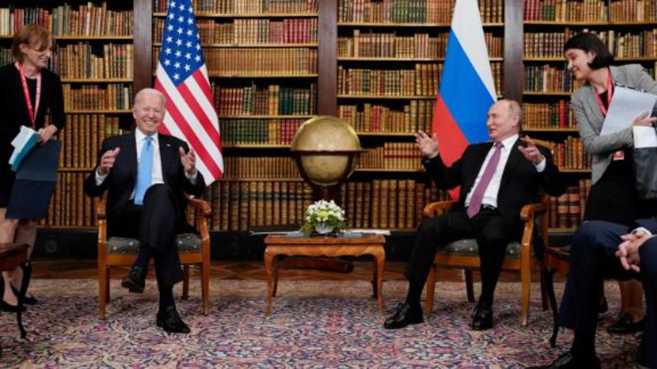 Ward describes 'uncomfortable' photo op between Biden and Putin