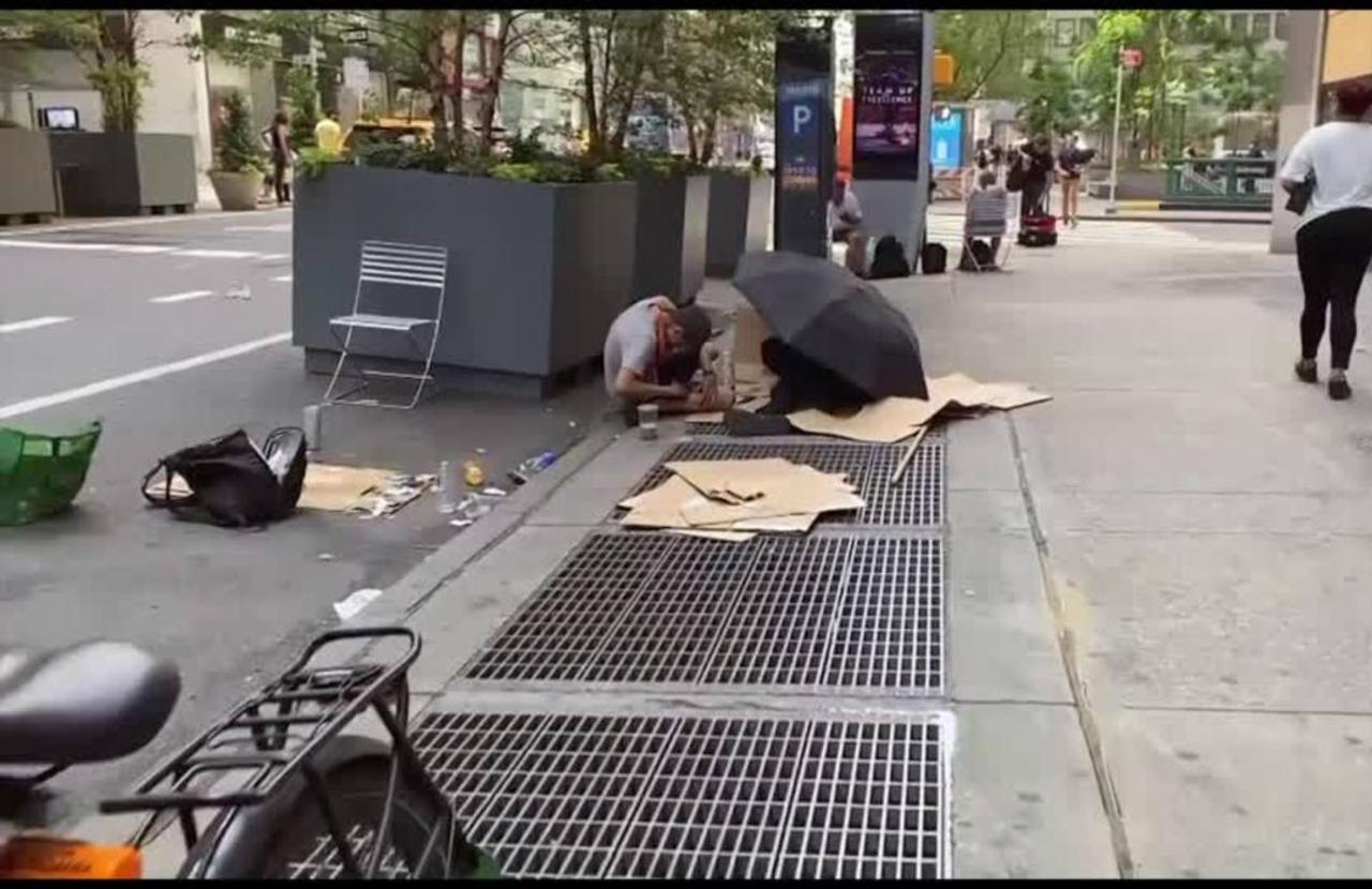 NYC recovery challenged by spike in homelessness