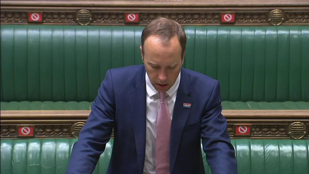 Matt Hancock opening statement in the debate for easing Covid restrictions