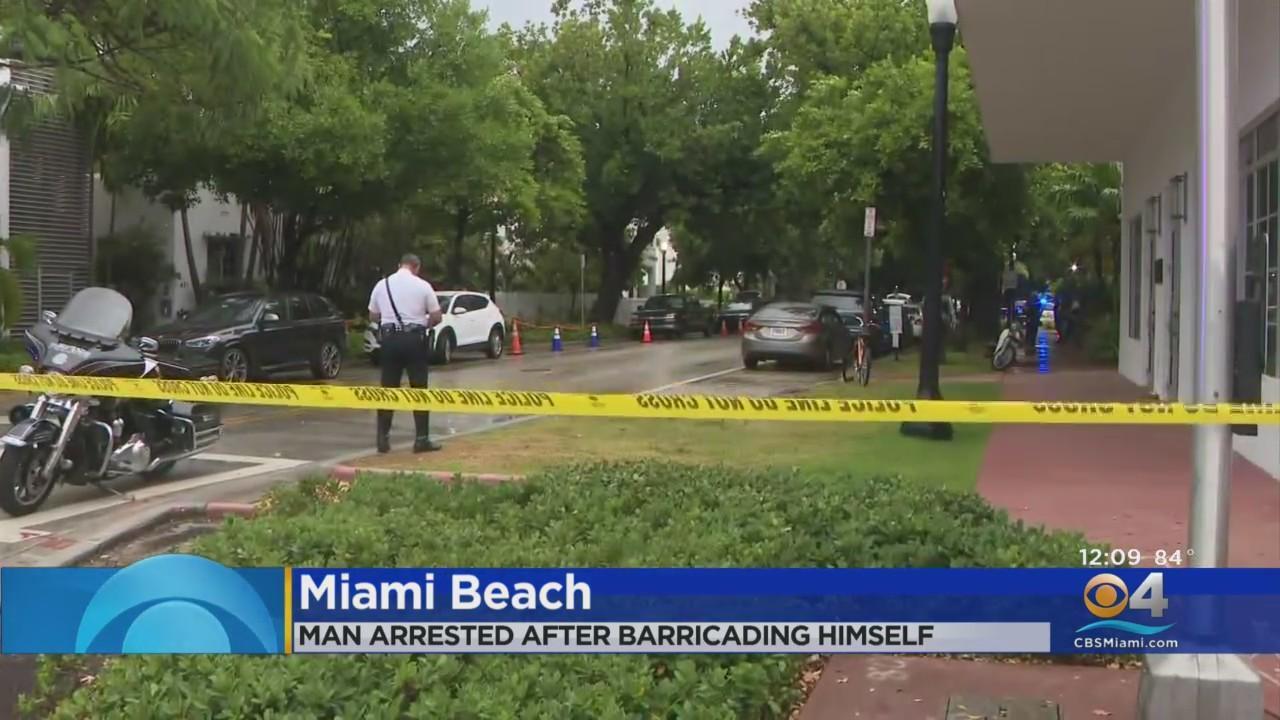 Miami Beach Police Arrest Man Accused Of Discharging Weapon