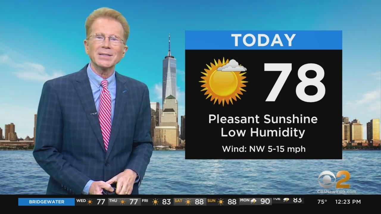 New York Weather: Nice Wednesday