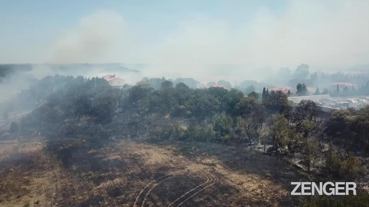 Farmer's Fire To Clear Scrub Sparks Massive Wildfire