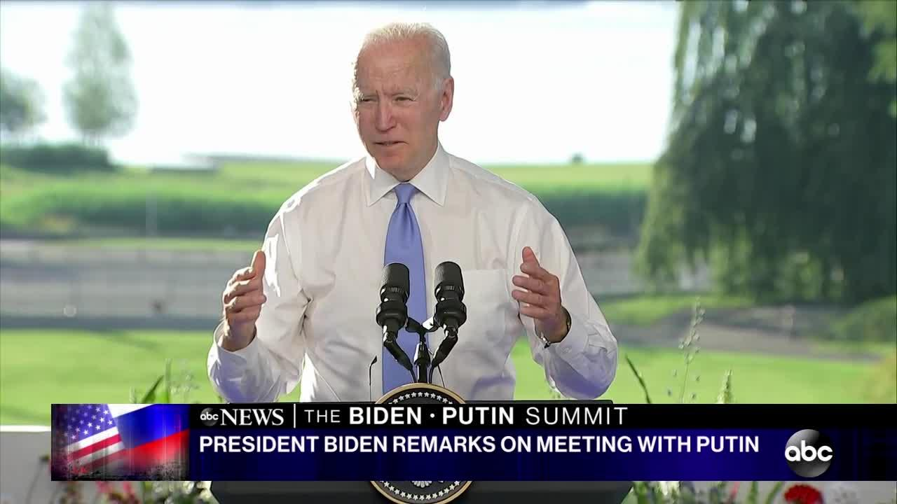 Biden and Putin hold 'constructive' summit, but both agree there's more work ahead