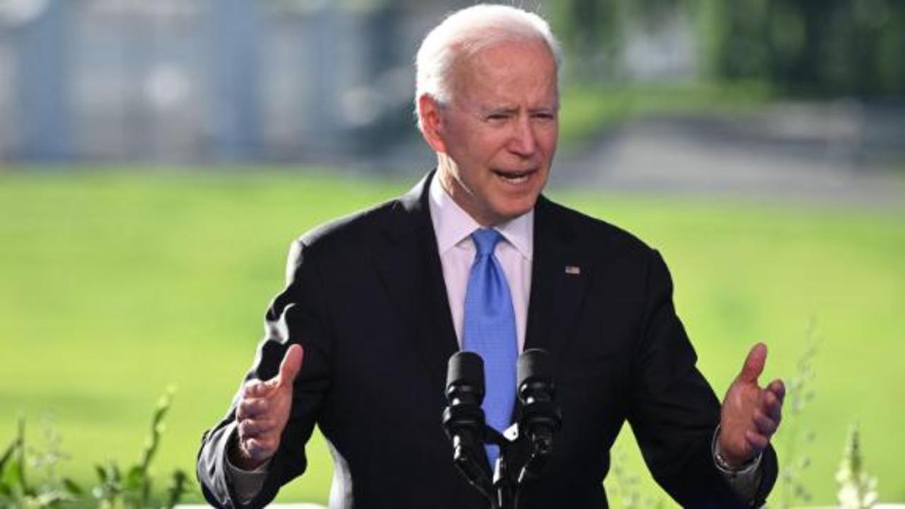 Watch Joe Biden discuss his meeting with Russia's Putin