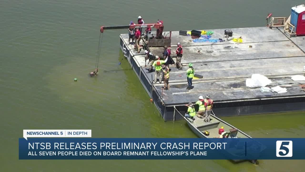 NTSB Releases Preliminary report of Smyrna plane crash