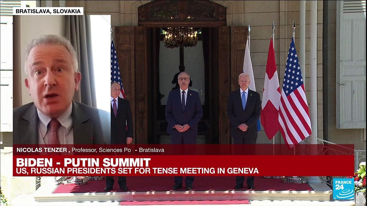 Biden - Putin Summit : US, Russian presidents set for tense meeting in Geneva