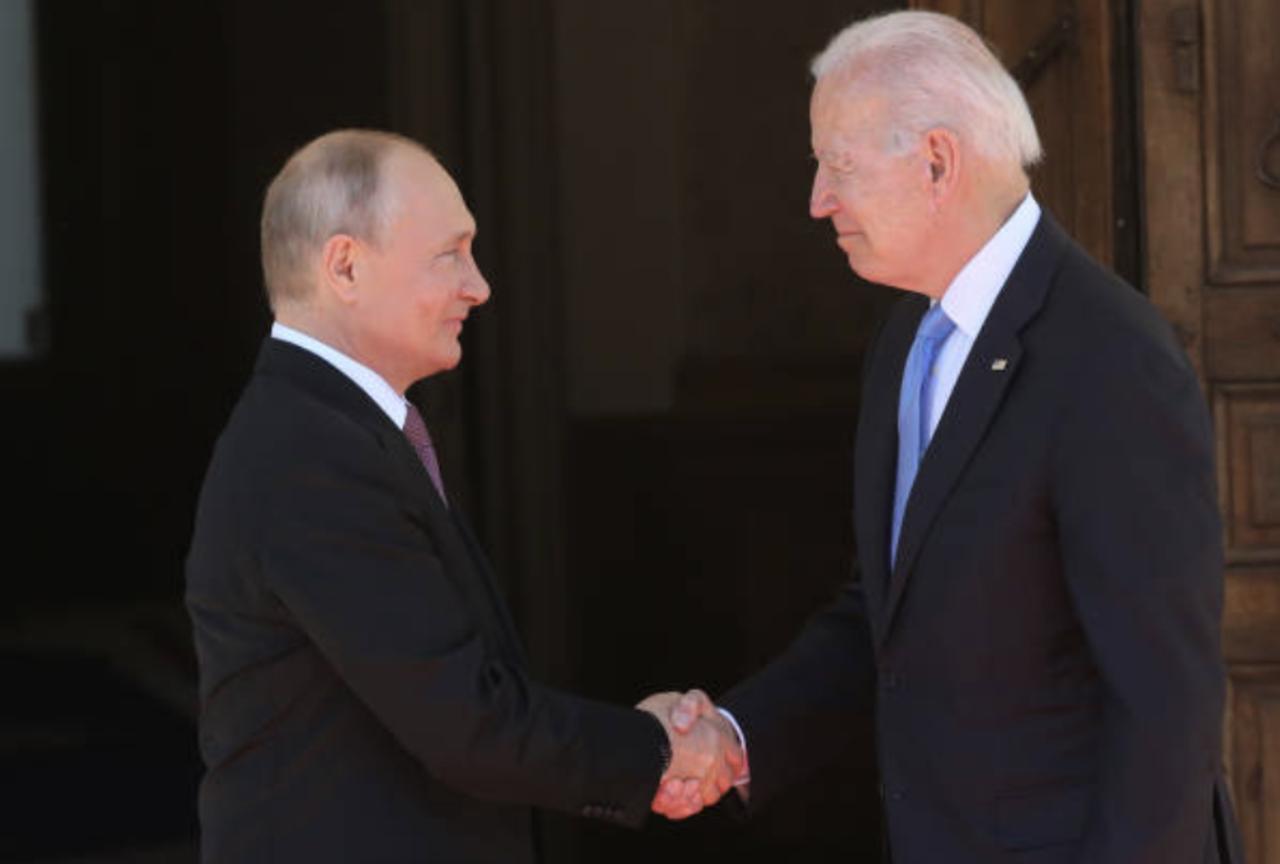 Biden and Putin Meet Face to Face at Geneva Summit