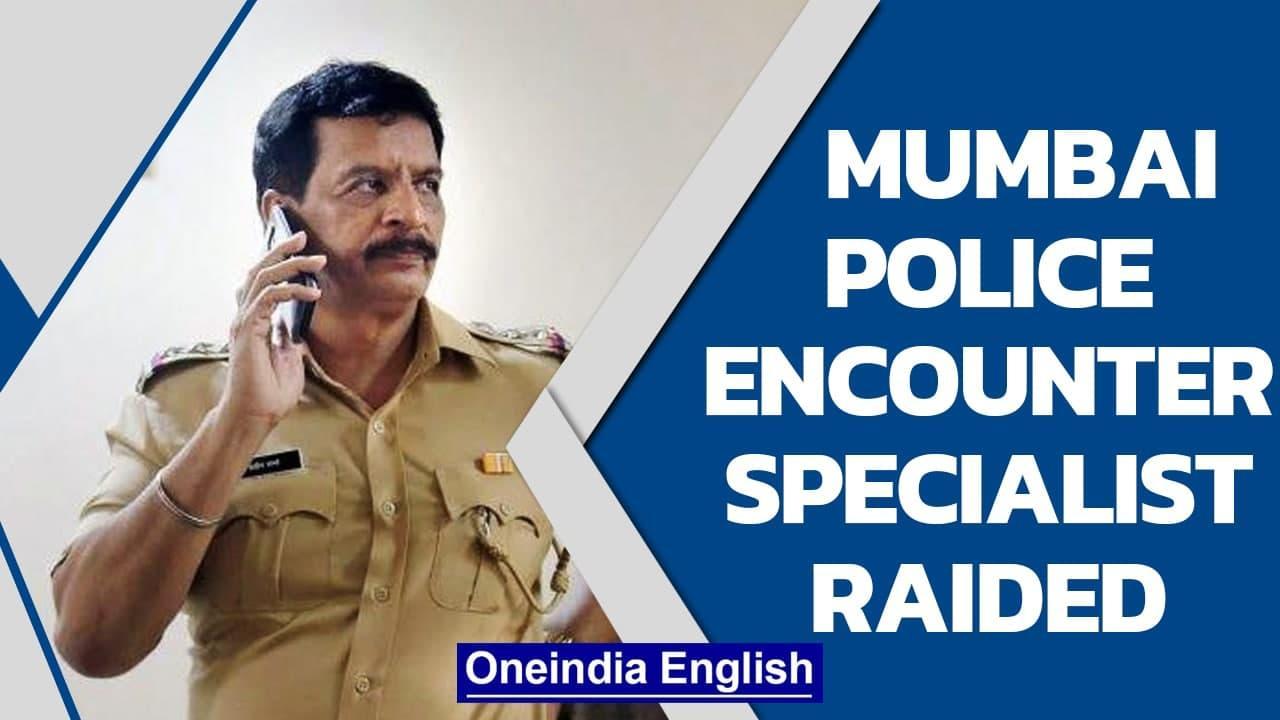 Raids against Mumbai police encounter specialist   Ambani bomb scare case   Oneindia News