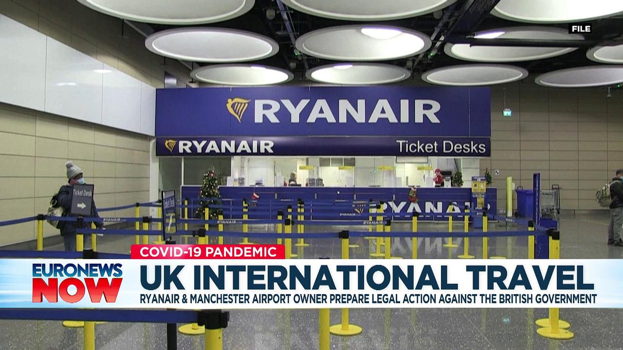 Ryanair sees red over UK's traffic light system for travel rules