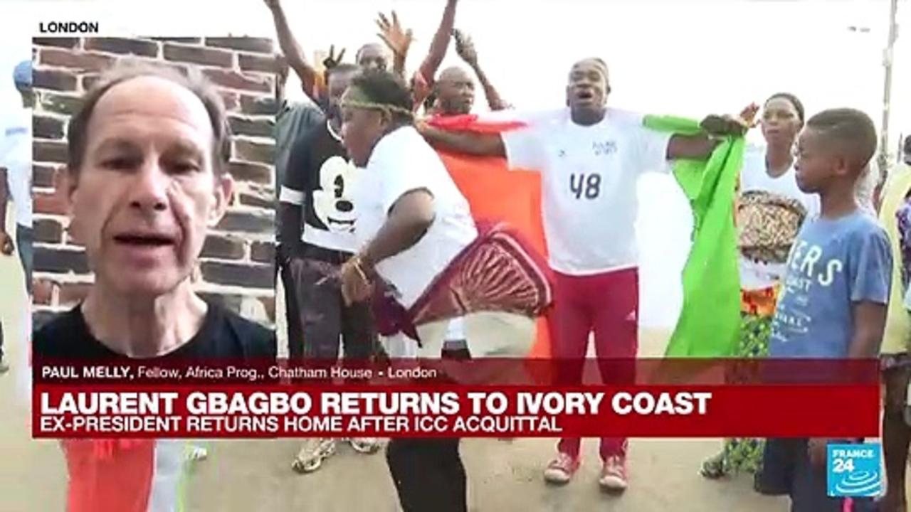 Analysis: Ex-President Gbagbo back in Ivory Coast after acquittal