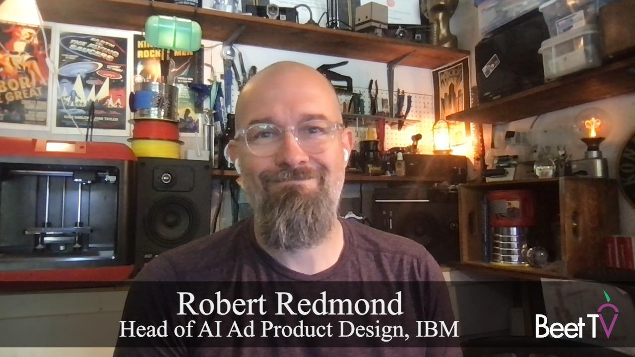 AI Helps Brands Re-Focus On Creative: IBM's Redmond