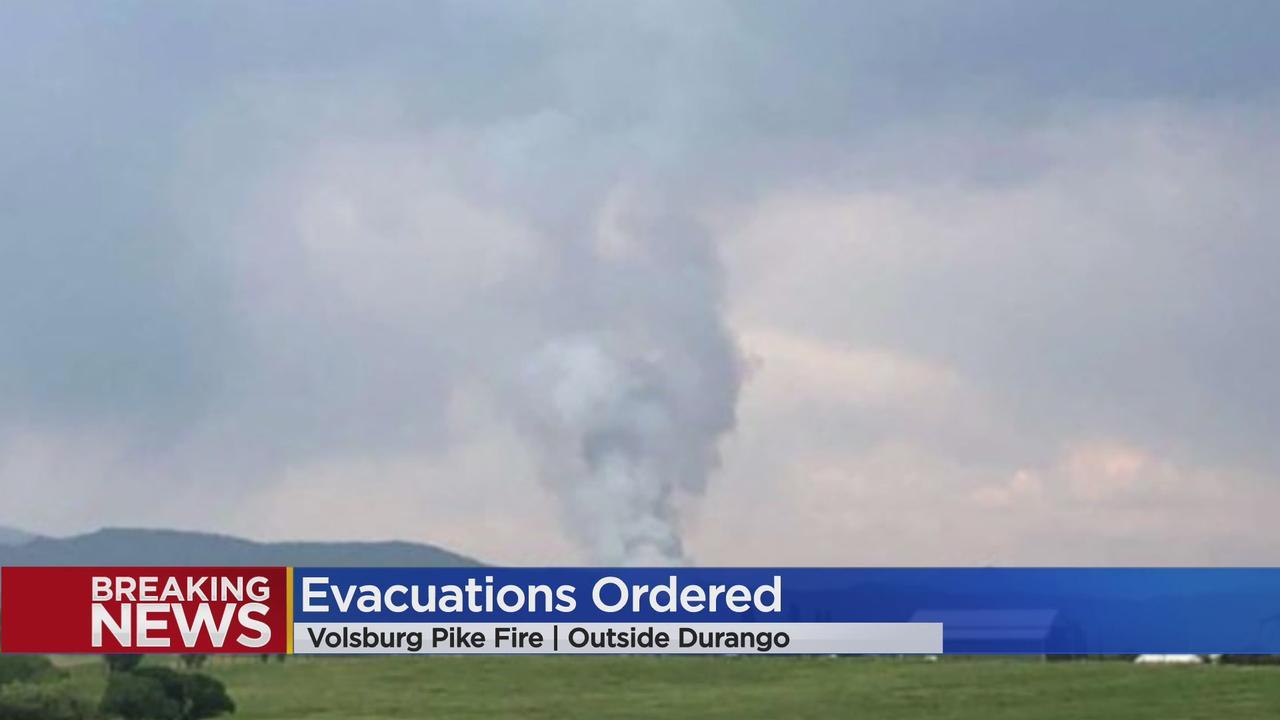 Evacuations Ordered Near Vosburg Pike Fire Burning East Of Durango