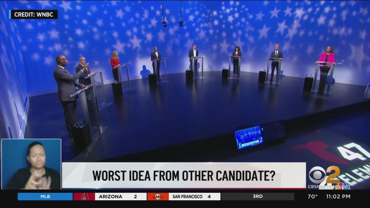 NYC Mayoral Candidates Take Aim At Each Other In Final Democratic Debate