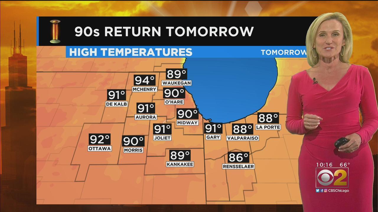 Chicago Weather: 90s Return Thursday