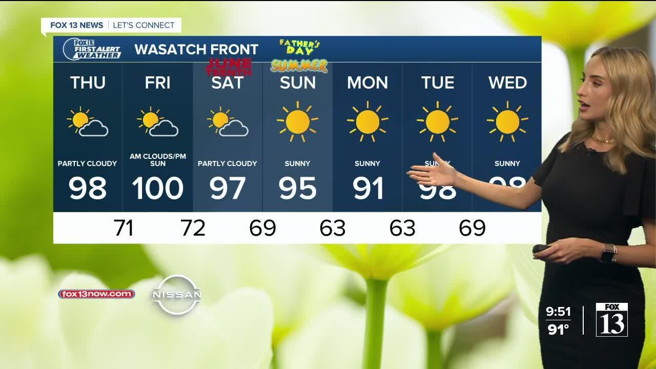 FOX 13 evening weather   Wednesday, June 16