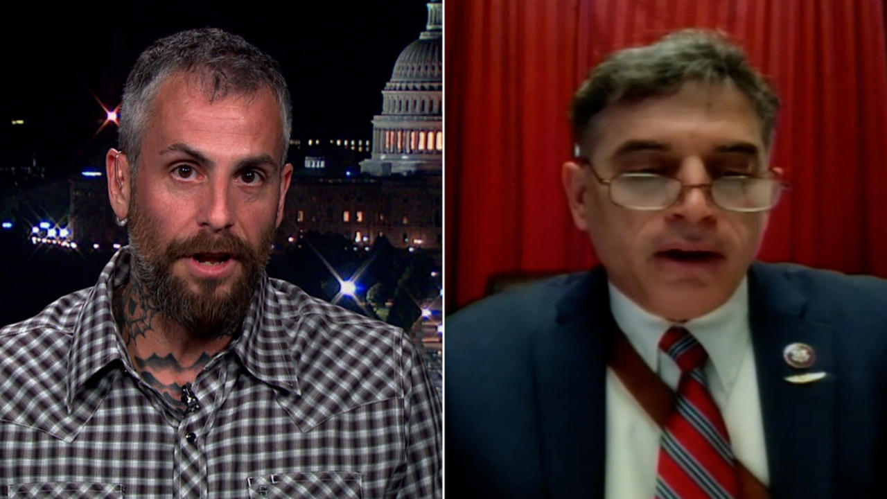 DC officer Fanone recalls interaction with GOP Rep.: He ran away 'like a coward'