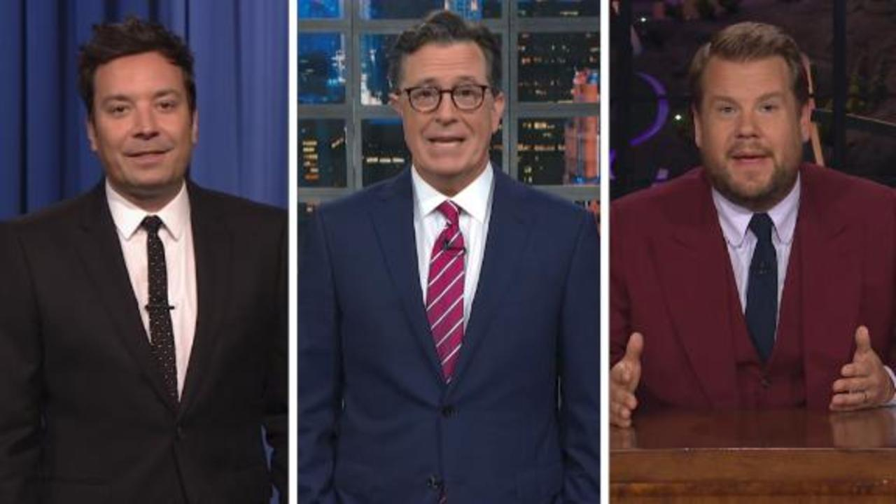 Late-night hosts mock Biden and Putin's press conferences