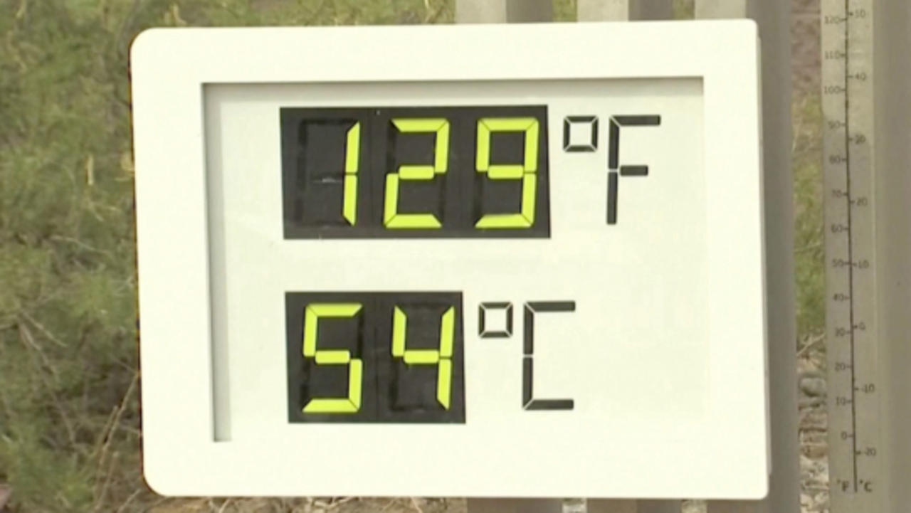 Death Valley Hits Record-Setting, Unseasonably Hot 129 Degree Temperatures