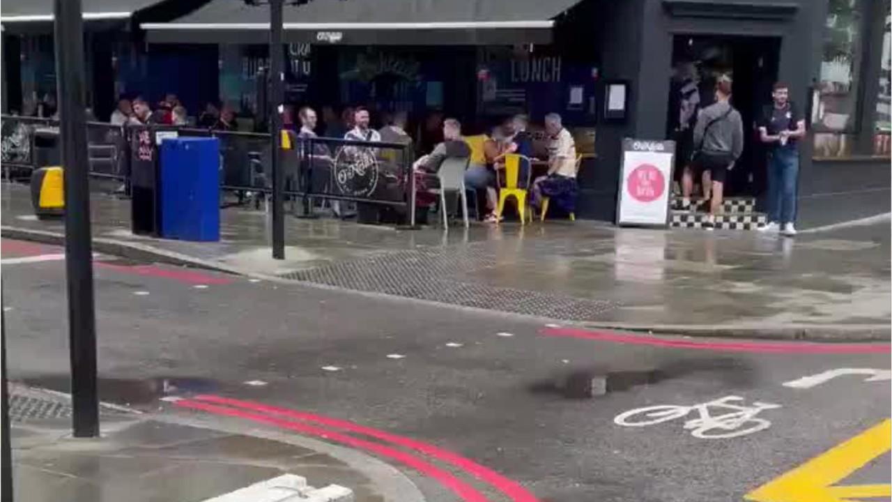 The Tartan Army invade London ahead of Scotland's Euro 2020 clash against England