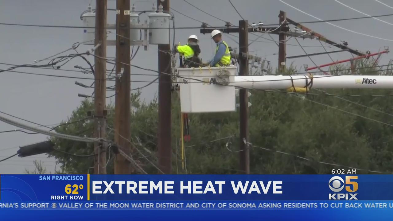 Extreme Heat Wave Bakes Bay Area, Strains Power Grid