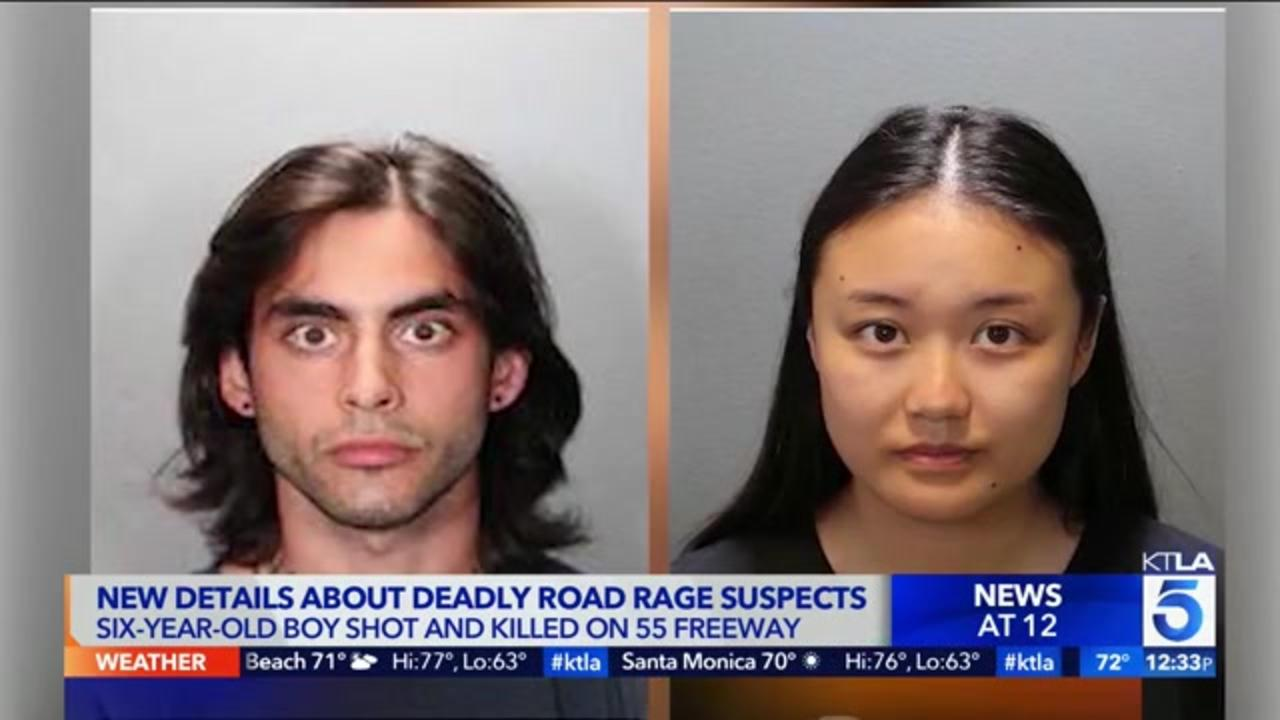 Suspects in road rage shooting that killed 6-year-old boy brandished gun at another driver days later, prosecutor says
