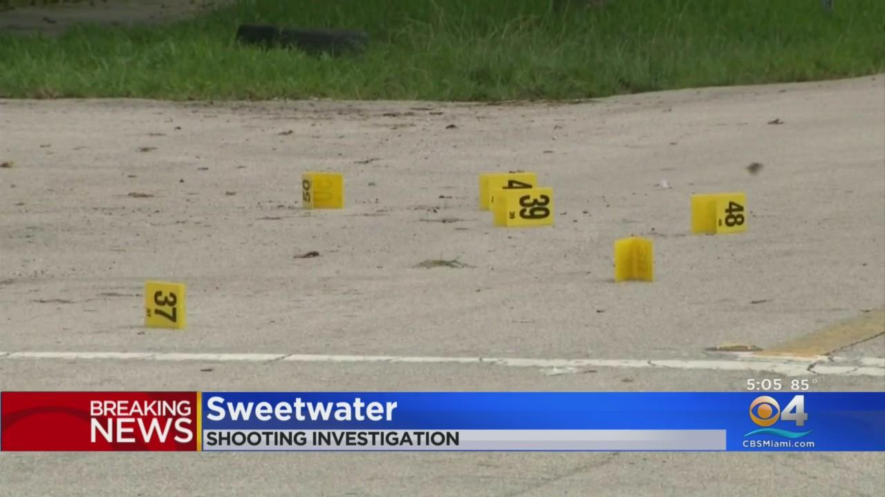 Investigation Underway After Shooting In Sweetwater