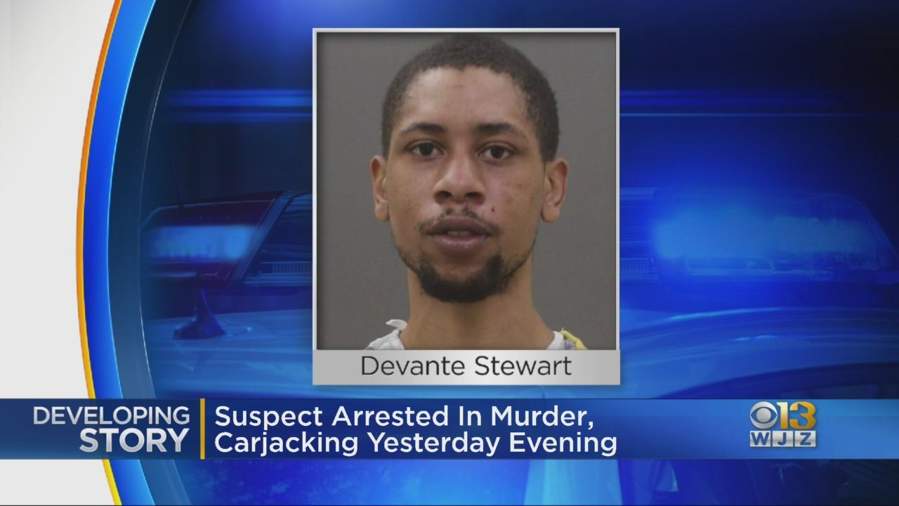 Man Charged In Fatal Shooting, Carjacking In SE Baltimore Wednesday