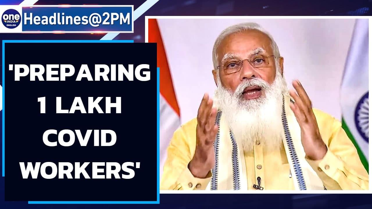 PM Modi launches crash course | 1 lakh Covid workers to be trained | Oneindia News