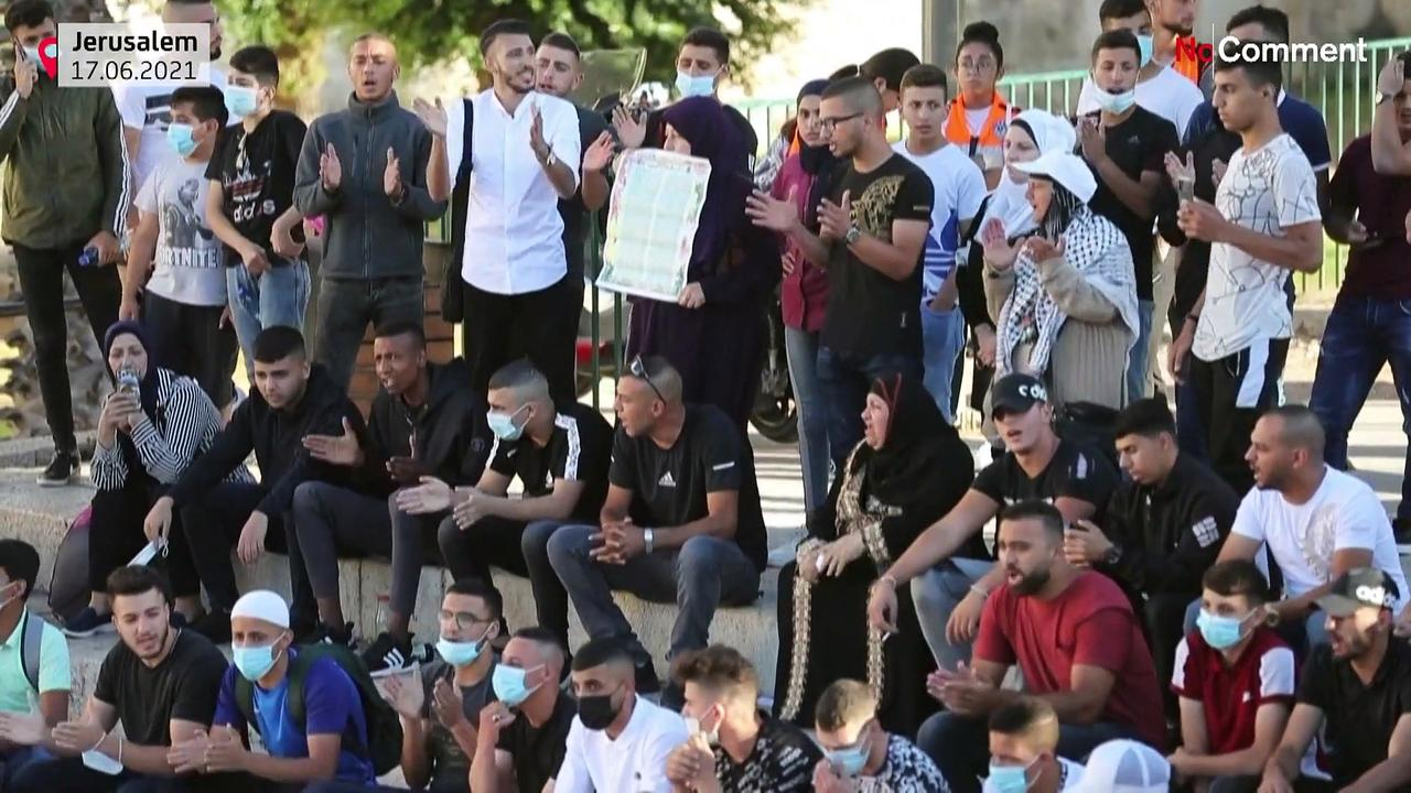 Skunk water used against Palestinian protesters