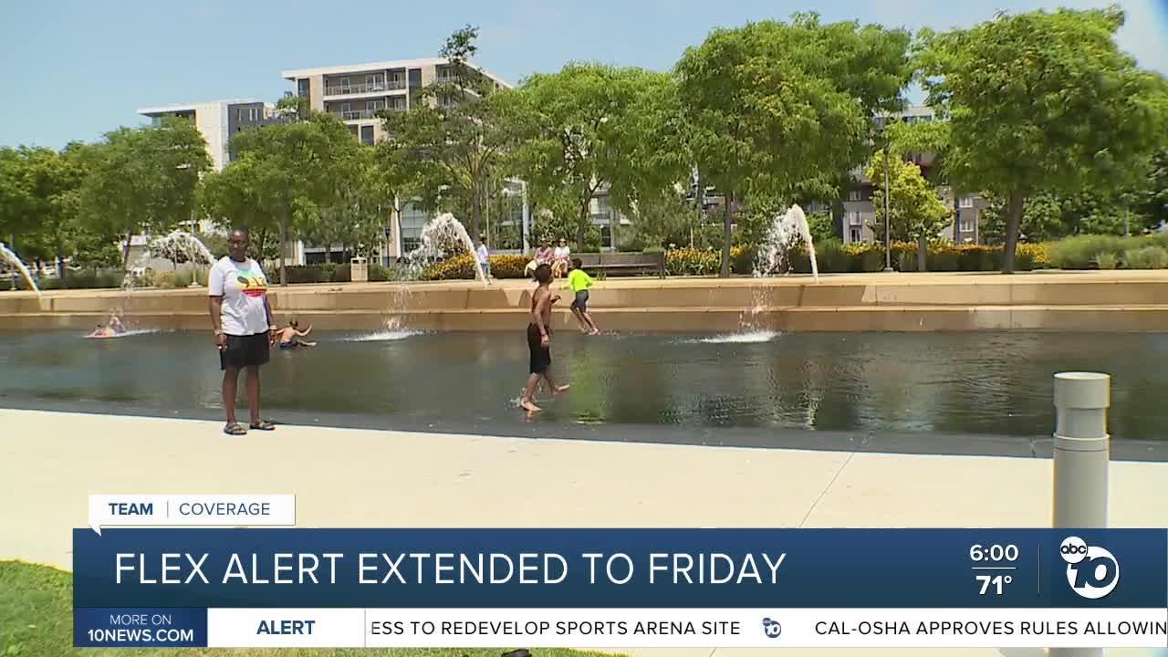 California's Flex Alert extended to Friday