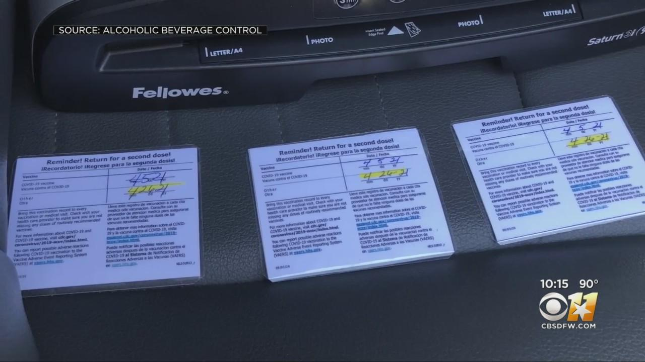 Feds Warn Against Fake COVID-19 Vaccine Cards