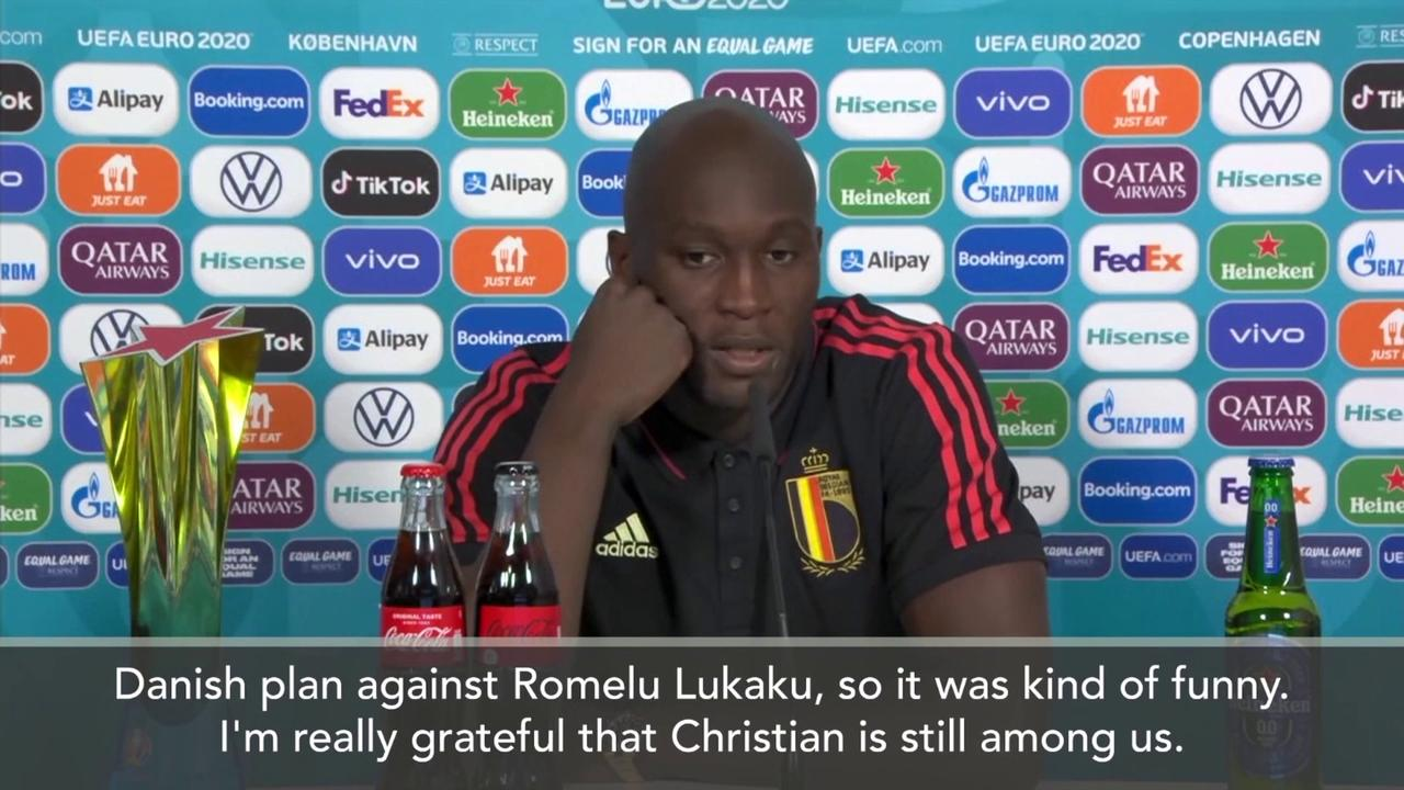 Lukaku: I spoke to Eriksen, Denmark had a plan for me