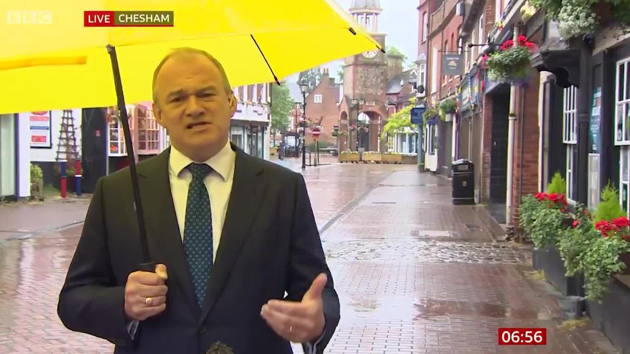 Sir Ed Davey: Concern Boris Johnson's government isn't listening