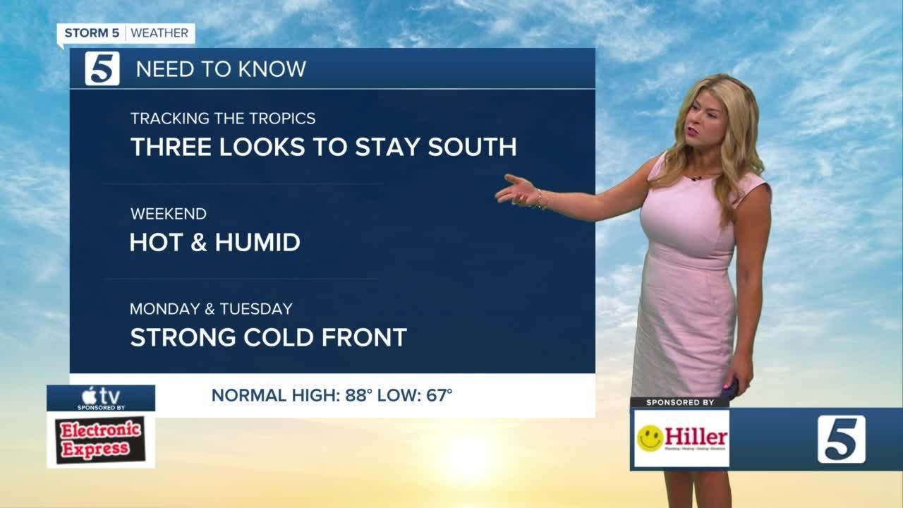 Nikki-Dee's early morning forecast: Friday, June 18, 2021