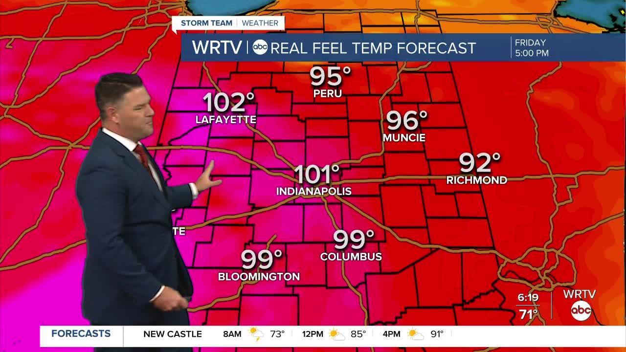 WRTV StormTeam Forecast: Friday, June 18, 2021