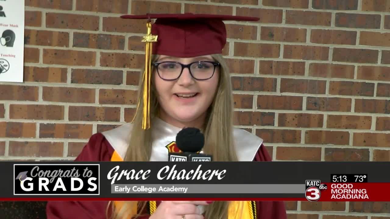 Congrats to Grads: Grace Chachere
