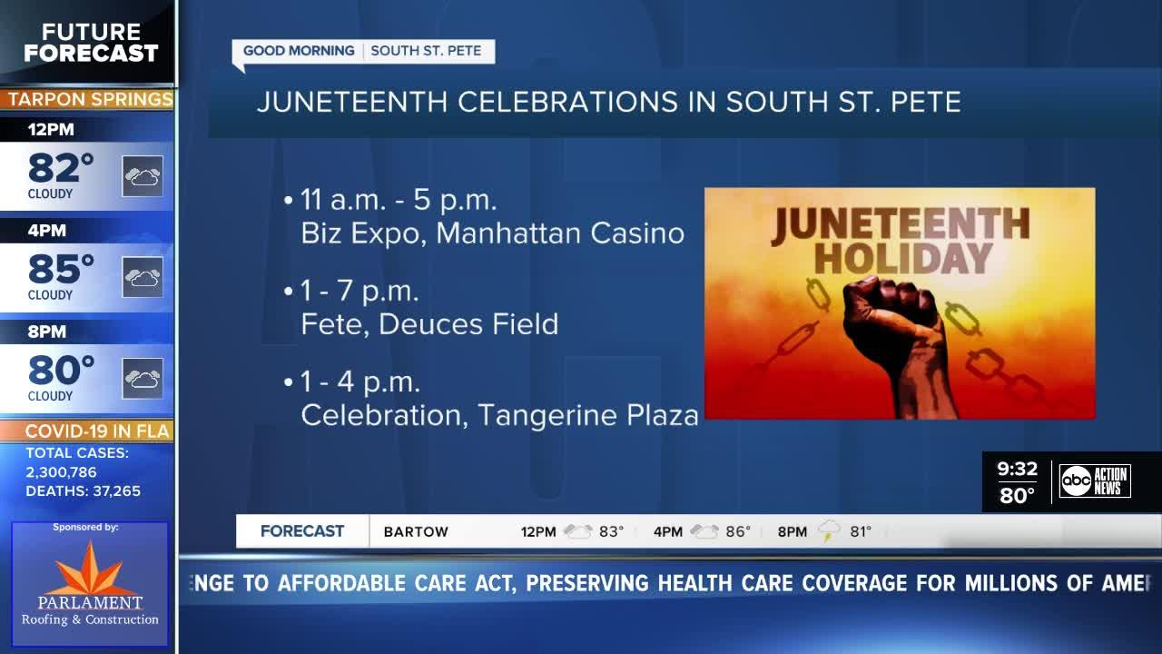 Juneteenth celebrations planned all across South St. Pete