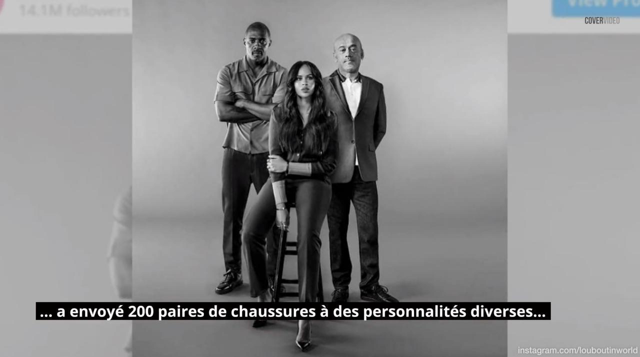 Christian Louboutin dément avoir choisi Assa Traoré comme égérie